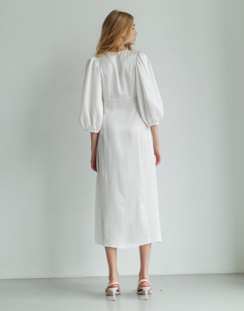 Платье из органического мирного шелка PURE_PO_SS21_3, фото 1 - в интернет магазине KAPSULA