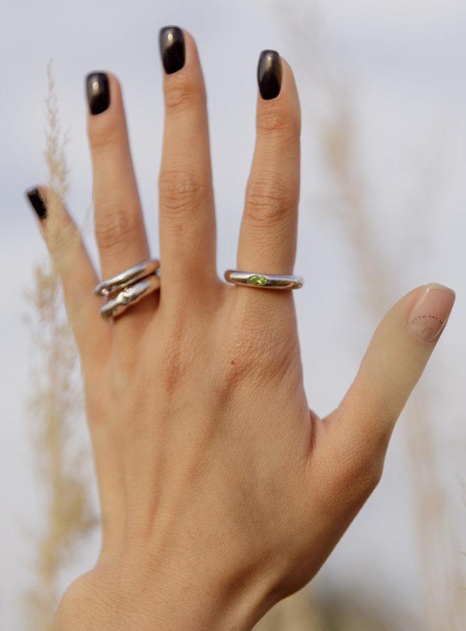 Кольцо из серебра RAJ_R-007g, фото 1 - в интернет магазине KAPSULA