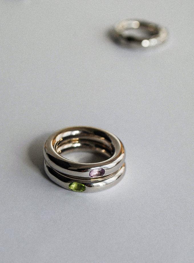 Кольцо из серебра RAJ_R-007v, фото 1 - в интернет магазине KAPSULA