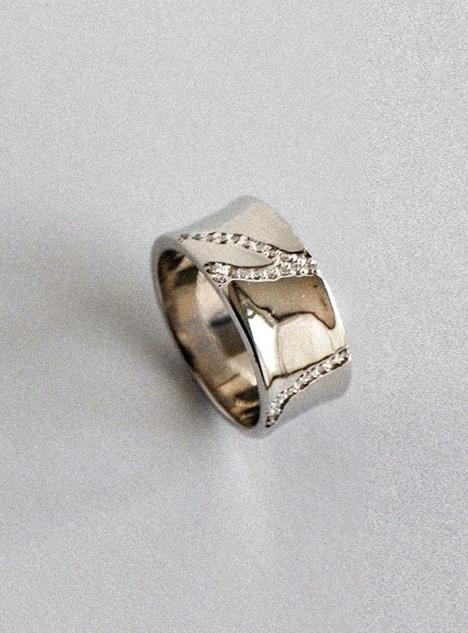 Кольцо из серебра RAJ_R-7940, фото 1 - в интернет магазине KAPSULA