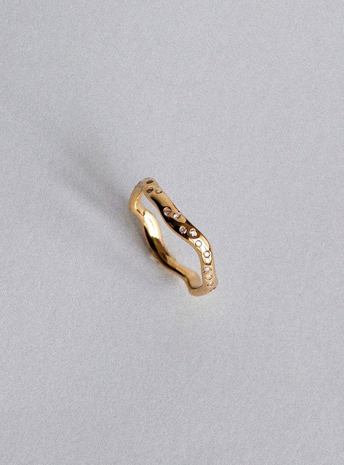 Кольцо из желтого золота RAJ_R-7942, фото 1 - в интернет магазине KAPSULA