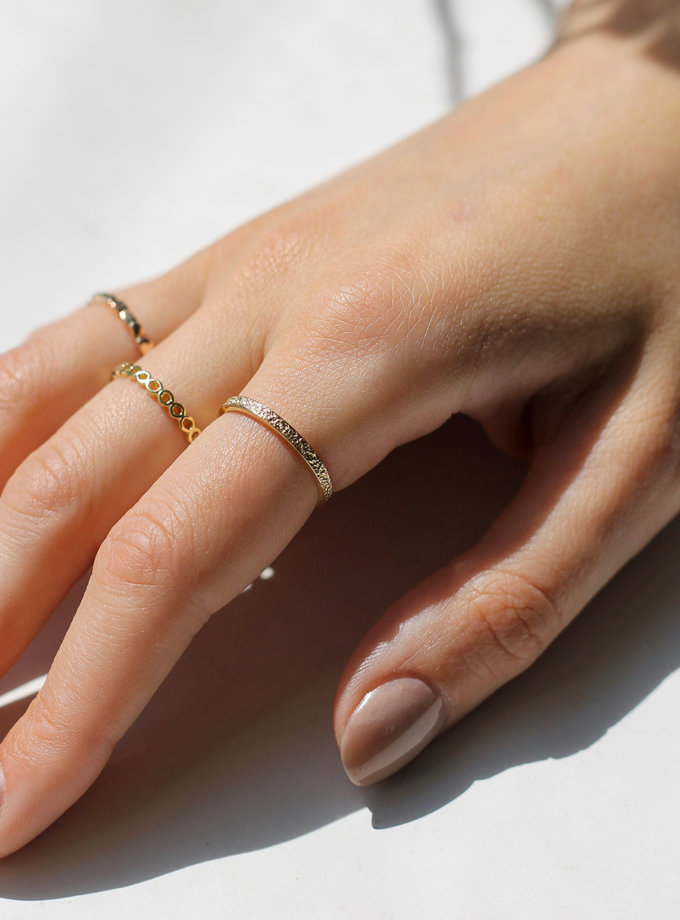 Кольцо из желтого золота RAJ_R-7947, фото 1 - в интернет магазине KAPSULA