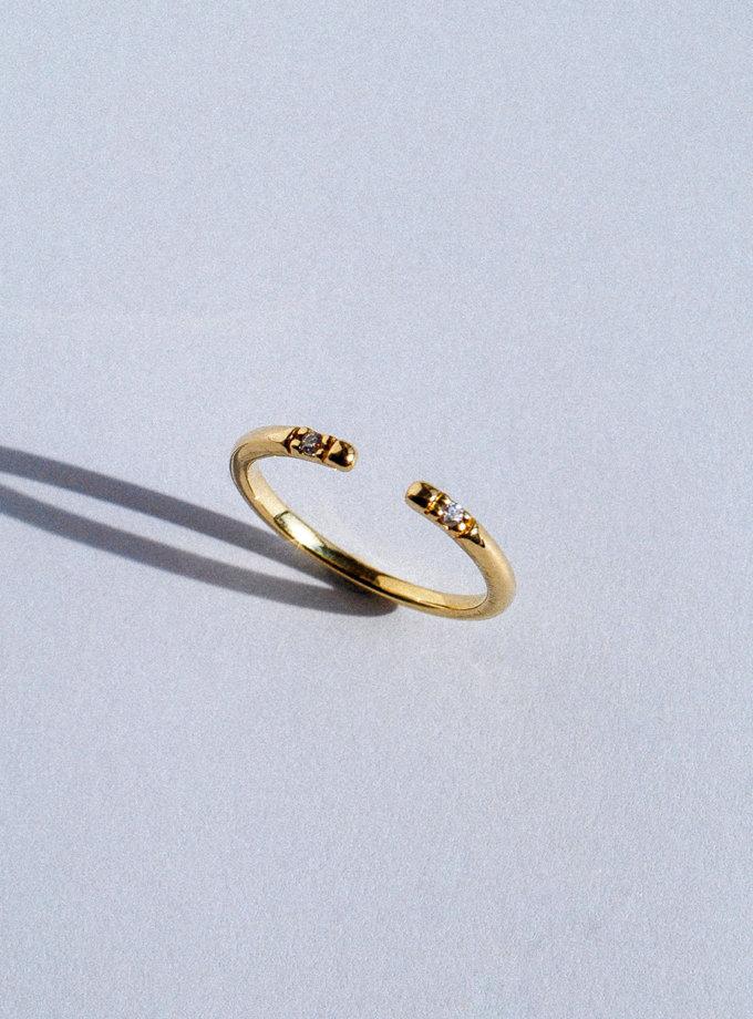 Кольцо из желтого золота RAJ_RRA-002, фото 1 - в интернет магазине KAPSULA