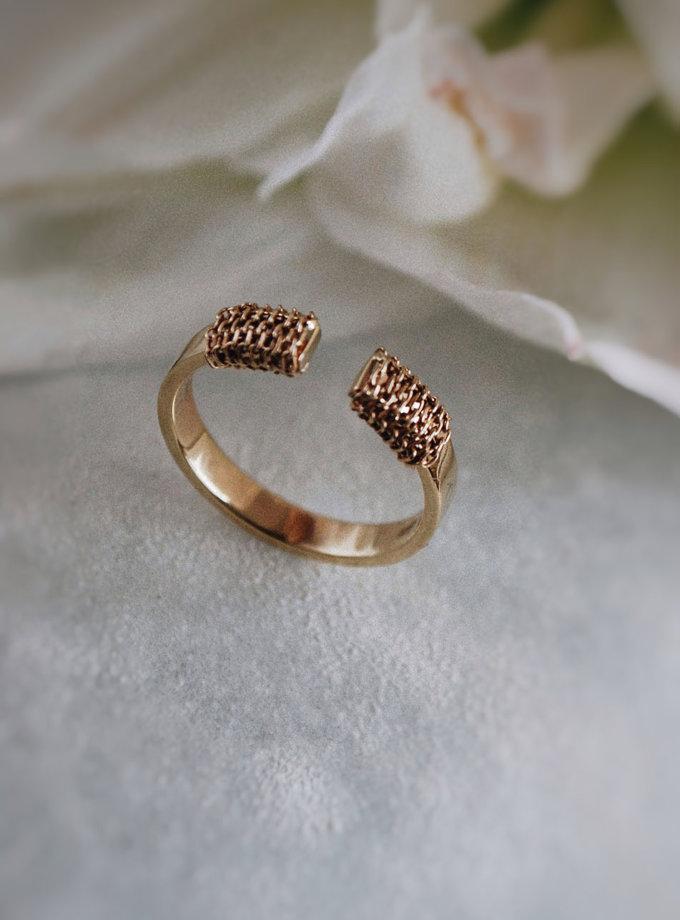 Кольцо из желтого золота RAJ_RRA-014, фото 1 - в интернет магазине KAPSULA