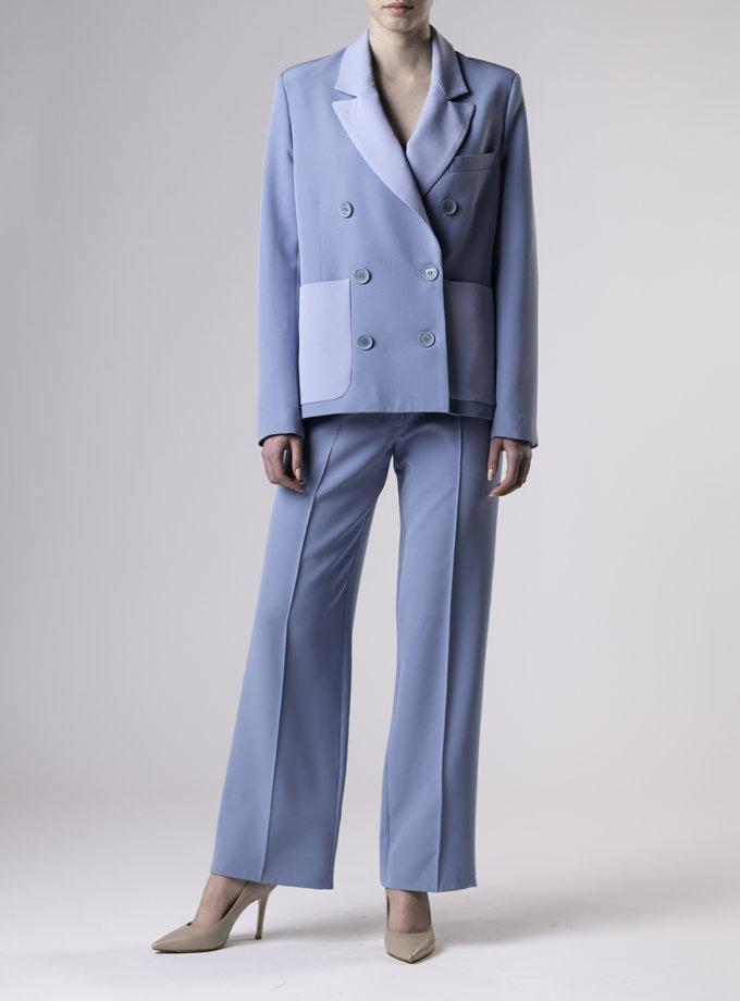 Прямые брюки со стрелками ALOT_030151, фото 1 - в интернет магазине KAPSULA