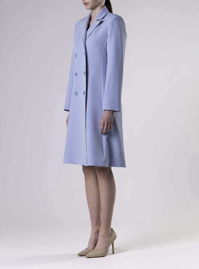 Двубортное платье миди ALOT_100476, фото 1 - в интернет магазине KAPSULA