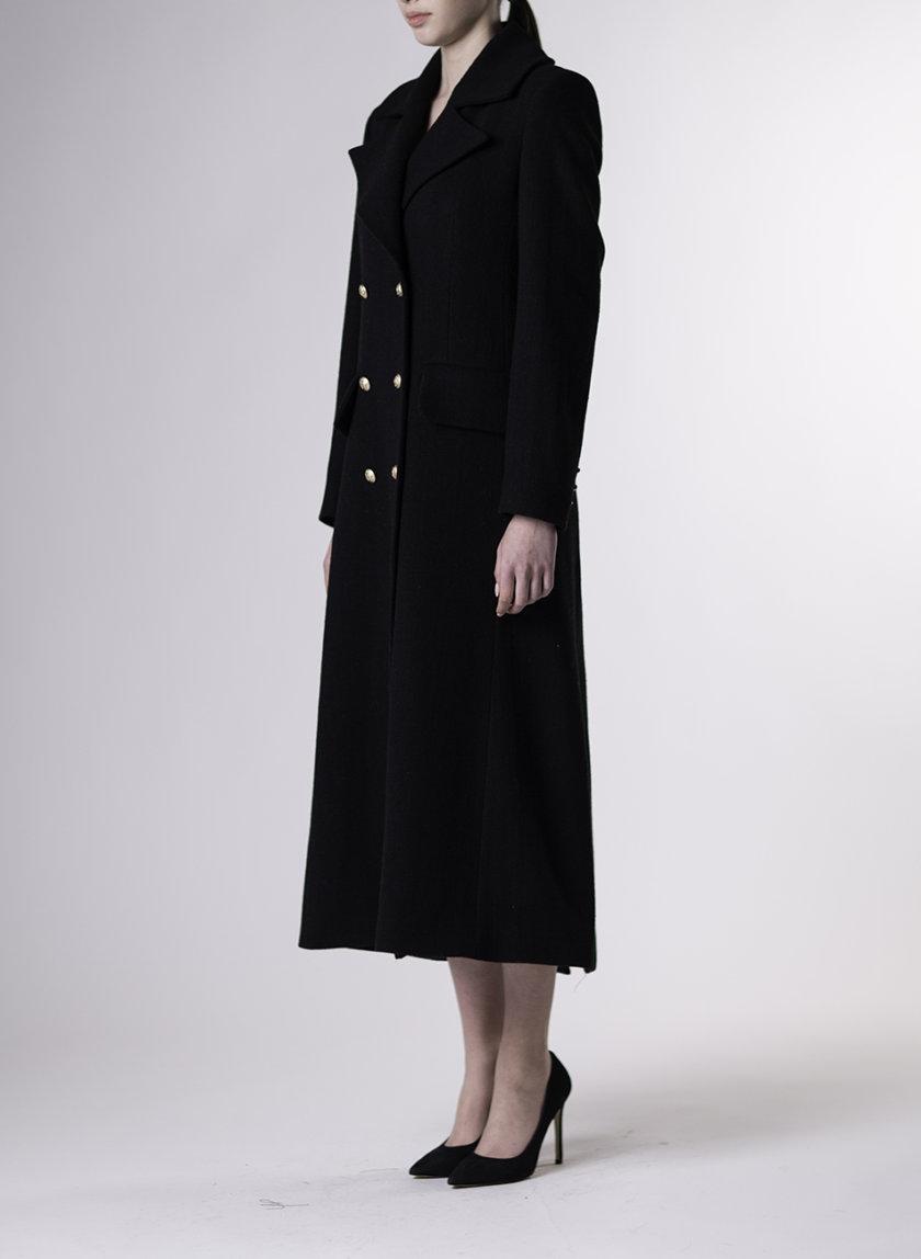 Приталенное двубортное пальто ALOT_500259, фото 1 - в интернет магазине KAPSULA