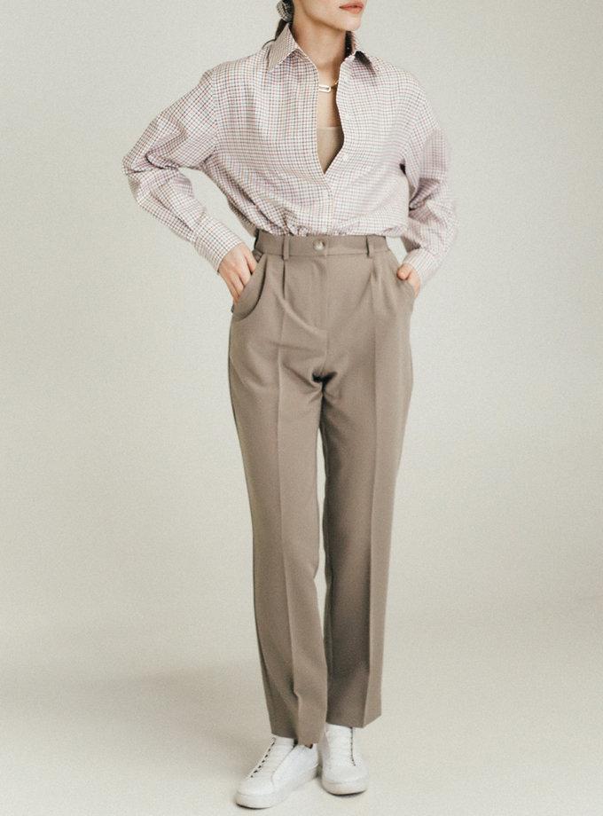 Зауженные брюки со стрелками PDH_SS20_00010_1, фото 1 - в интернет магазине KAPSULA