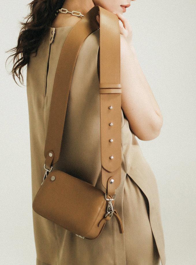 Кожаная Сумка Brick bag PDH_SS20_00013_1, фото 1 - в интернет магазине KAPSULA