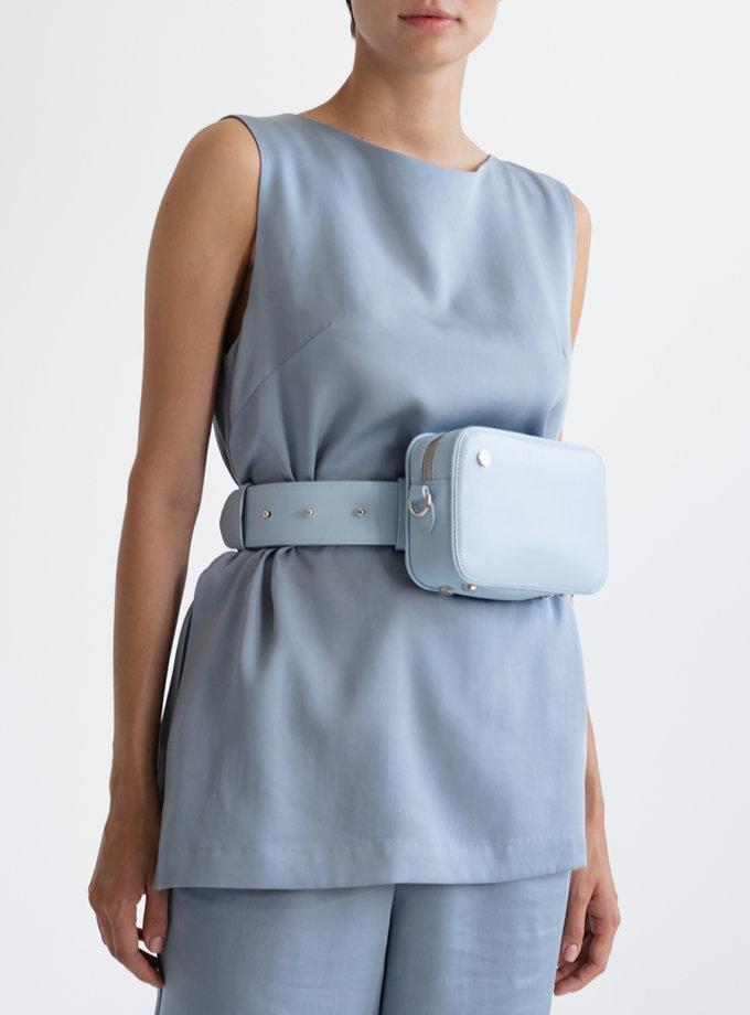 Кожаная Сумка Brick bag PDH_SS20_00013_2, фото 1 - в интернет магазине KAPSULA