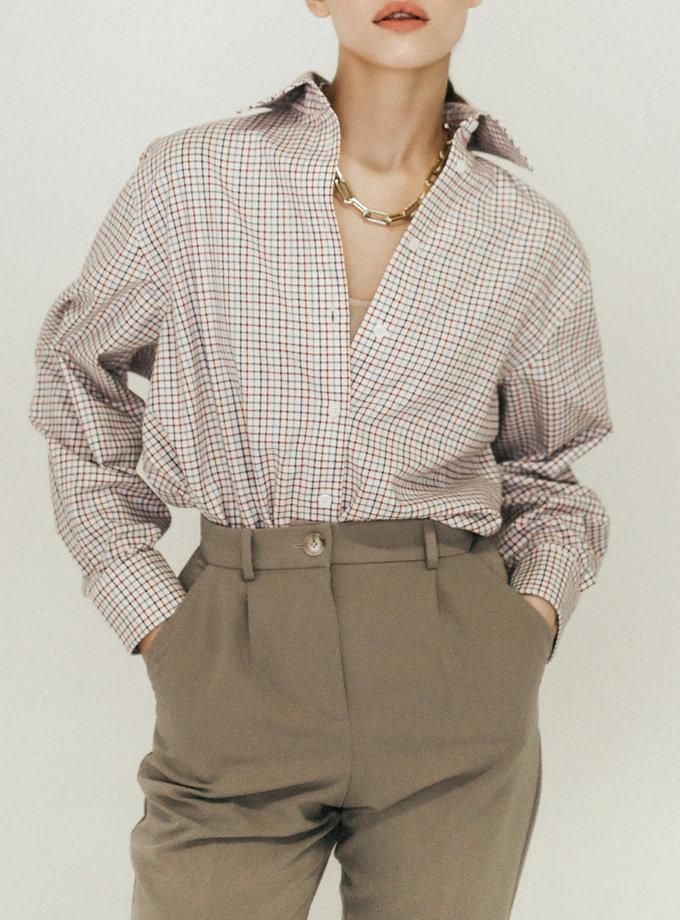 Хлопковая рубашка Оversize PDH_SS20_0002, фото 1 - в интернет магазине KAPSULA