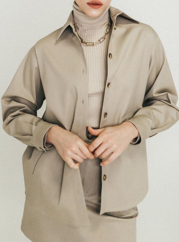 Хлопковая рубашка с карманами SS20_0003_2, фото 1 - в интернет магазине KAPSULA