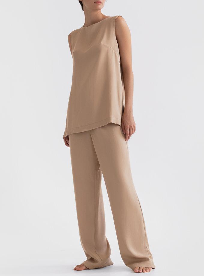 Комплект с брюками на резинке PDH_SS20_0007, фото 1 - в интернет магазине KAPSULA