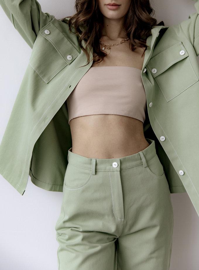 Широкие брюки REAL SNDR_SSR17, фото 1 - в интернет магазине KAPSULA