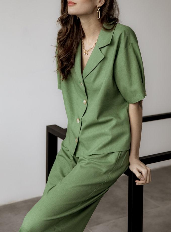 Костюм с широкими брюками REAL SNDR_SSR18, фото 1 - в интернет магазине KAPSULA
