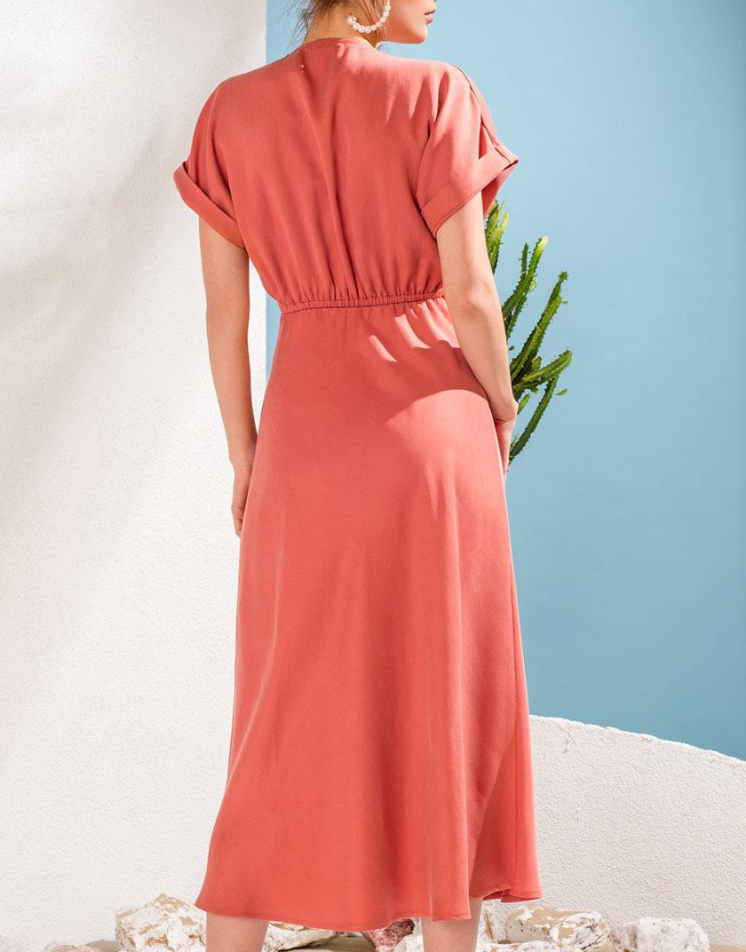 Платье миди из тенсела KS_SS24_34, фото 1 - в интернет магазине KAPSULA