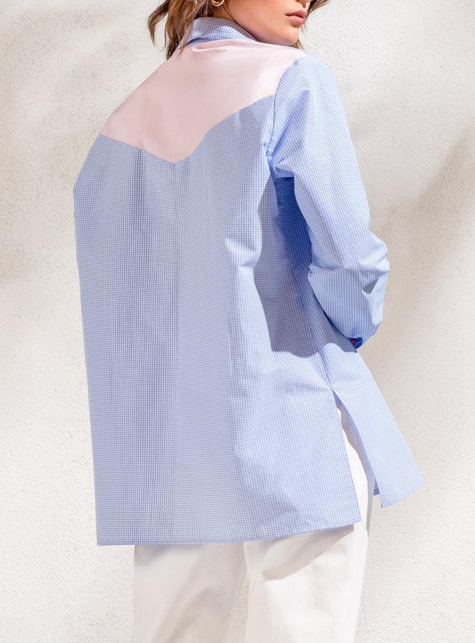 Рубашка в клетку KS_SS24_32, фото 1 - в интернет магазине KAPSULA