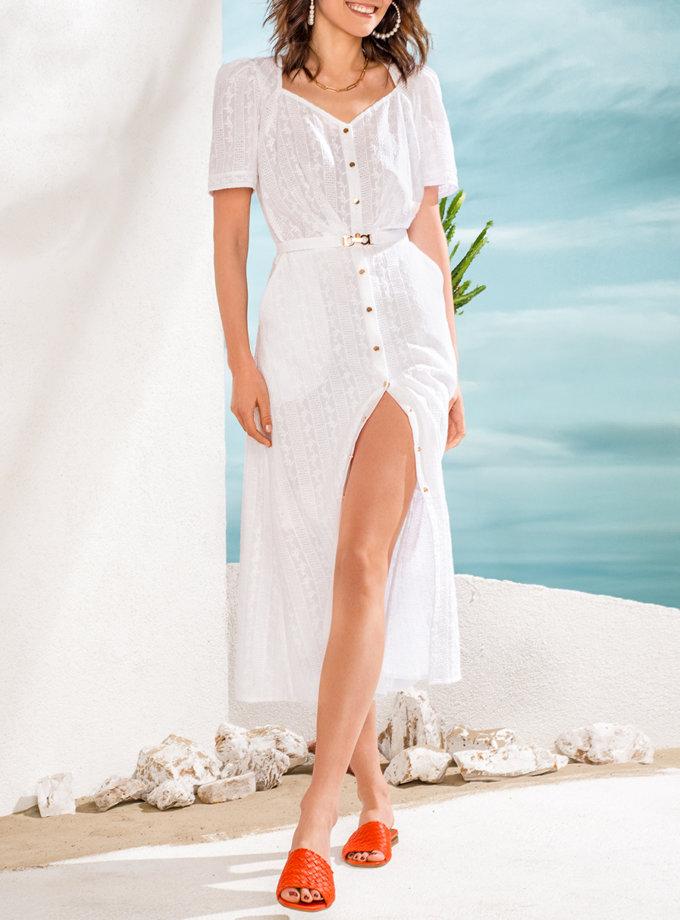 Платье из хлопкового кружева KS_SS24_20, фото 1 - в интернет магазине KAPSULA