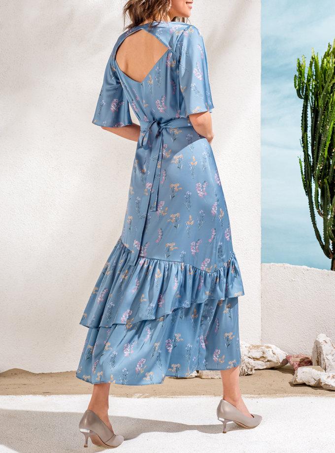 Платье в вырезом на спине KS_SS24_22-1, фото 1 - в интернет магазине KAPSULA