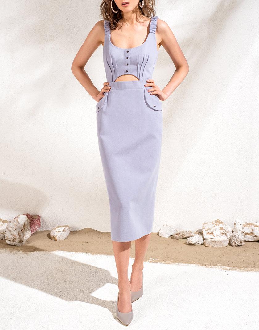 Хлопковое платье-футляр KS_SS24_12, фото 1 - в интернет магазине KAPSULA