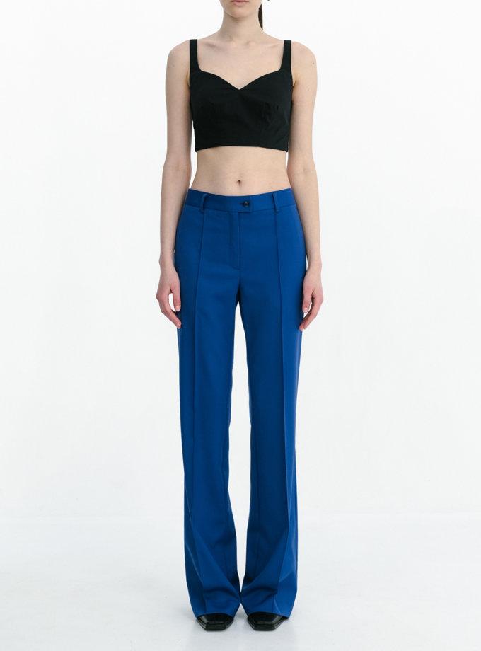 Шерстяные брюки со стрелками SHKO_20017009, фото 1 - в интернет магазине KAPSULA