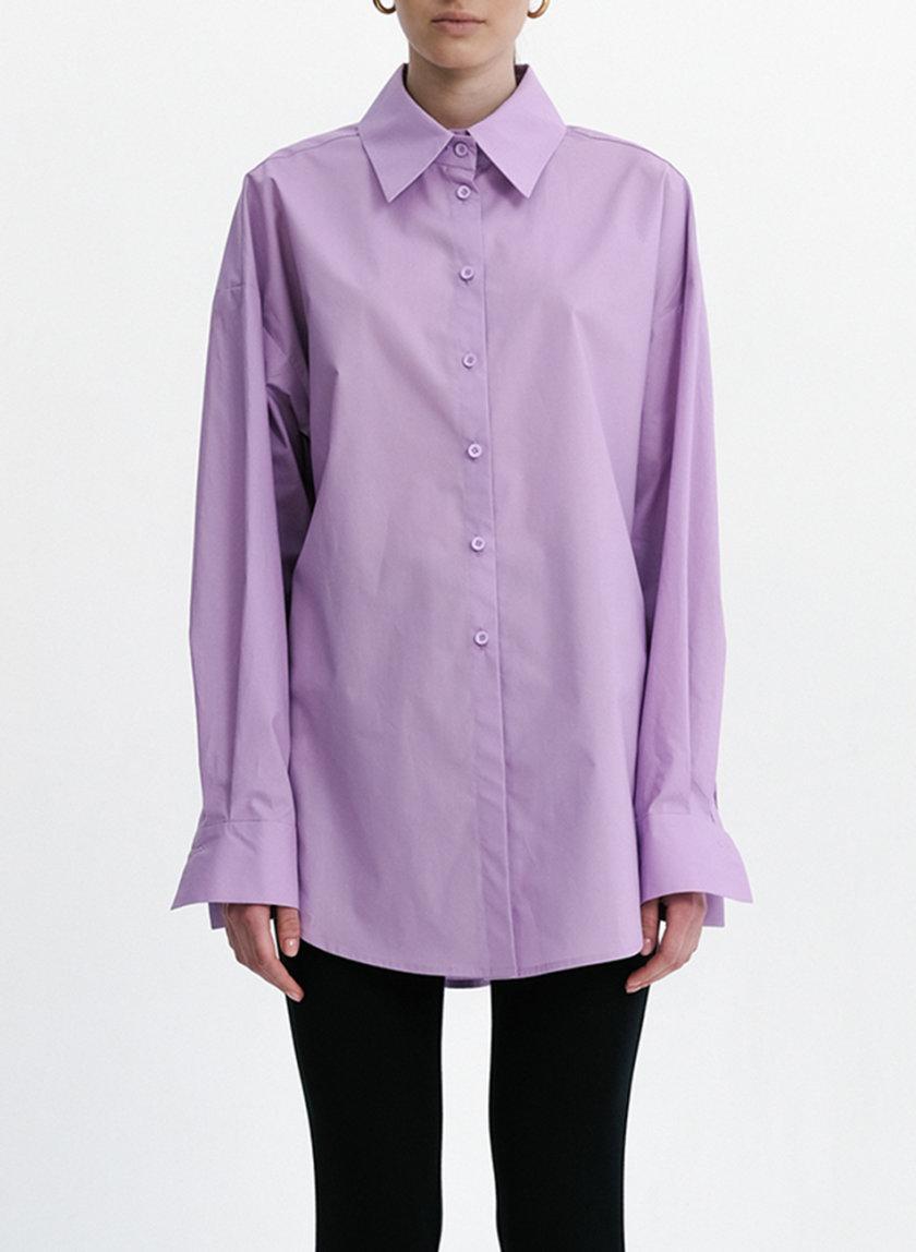 Хлопковая рубашка Oversize SHKO_21005005, фото 1 - в интернет магазине KAPSULA
