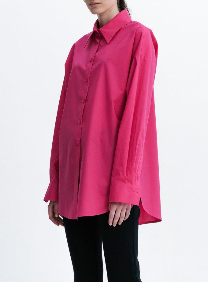 Хлопковая рубашка Oversize SHKO_21005004, фото 1 - в интернет магазине KAPSULA