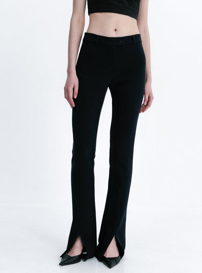 Узкие брюки с разрезами SHKO_21003001, фото 1 - в интернет магазине KAPSULA