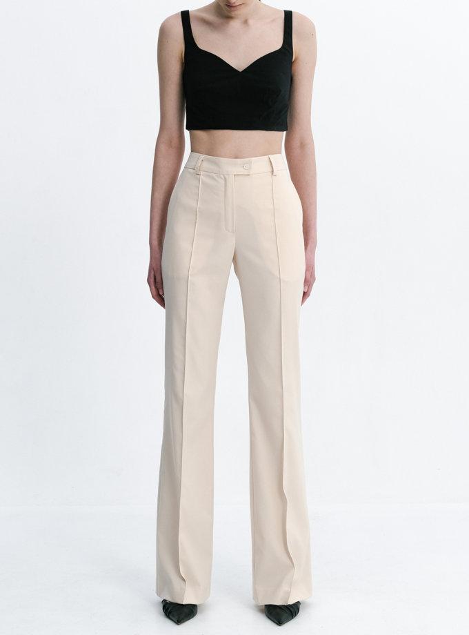 Прямые брюки со стрелками SHKO_20017010, фото 1 - в интернет магазине KAPSULA