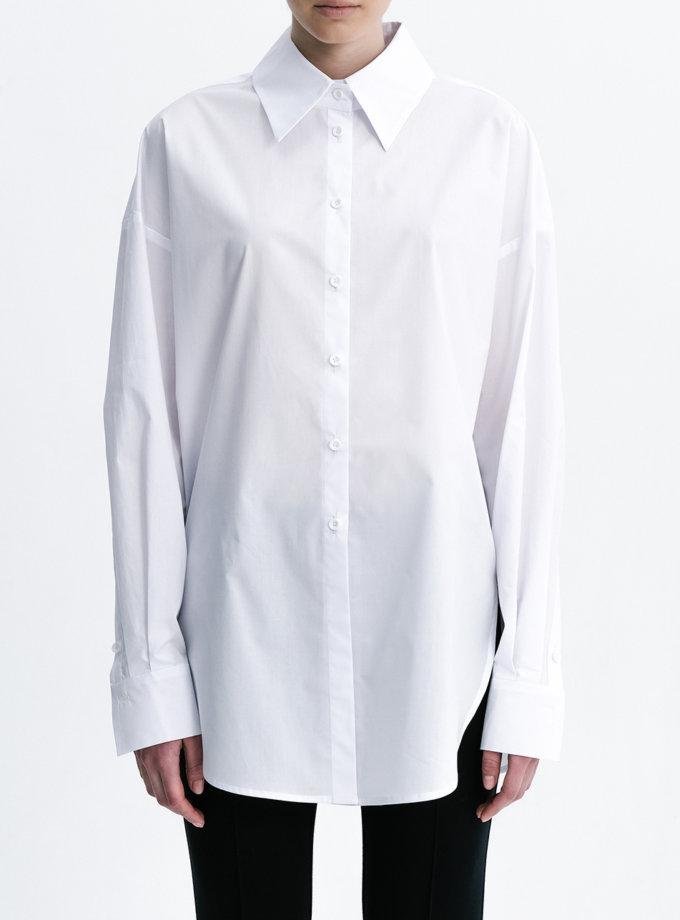 Хлопковая рубашка Oversize SHKO_21005001, фото 1 - в интернет магазине KAPSULA