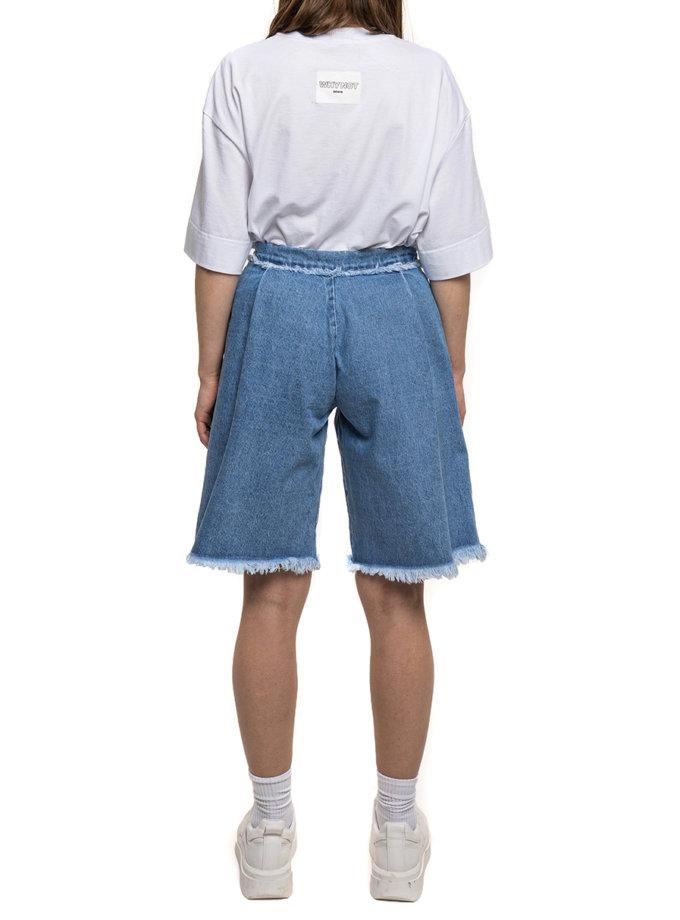 Джинсовые шорты бермуды WNDM_sp21-brmd-blue, фото 1 - в интернет магазине KAPSULA