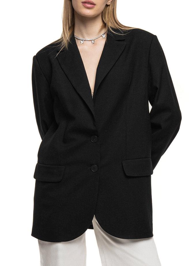 Жакет oversize WNDM_sp21-jct0-black-os, фото 1 - в интернет магазине KAPSULA