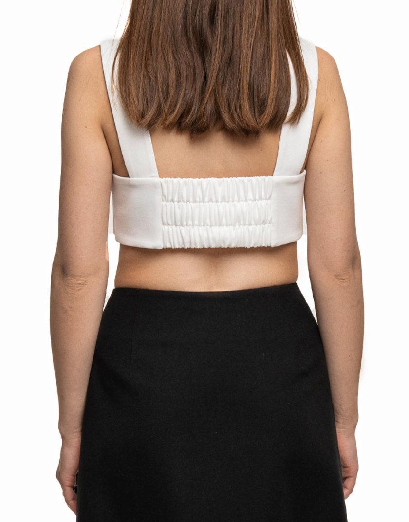 Топ бюстье на широких бретелях WNDM_sp21-tp-white-os, фото 1 - в интернет магазине KAPSULA