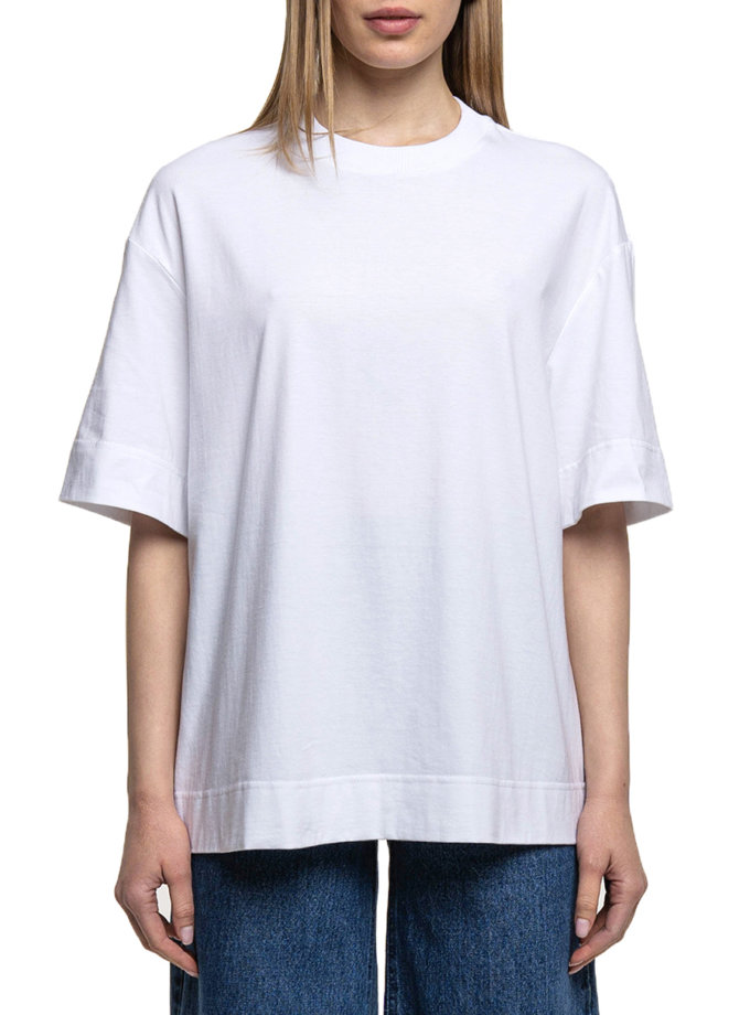 Хлопковая футболка WNDM_sp21-tsrt-white-os, фото 1 - в интернет магазине KAPSULA