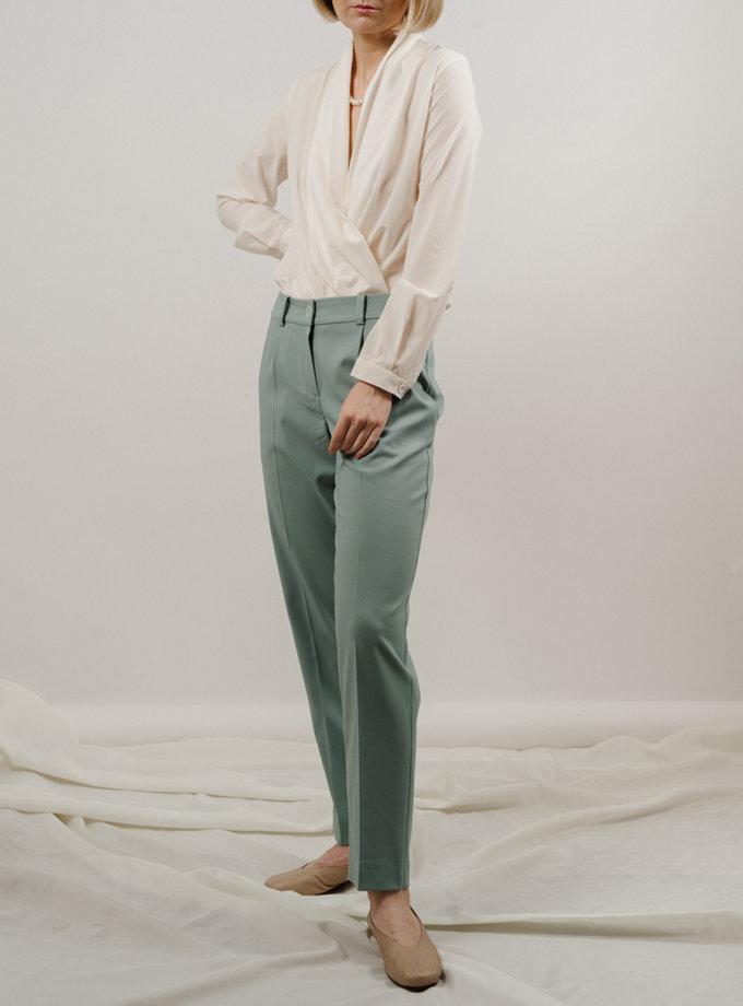 Зауженные брюки MNTK_MTS2131, фото 1 - в интернет магазине KAPSULA