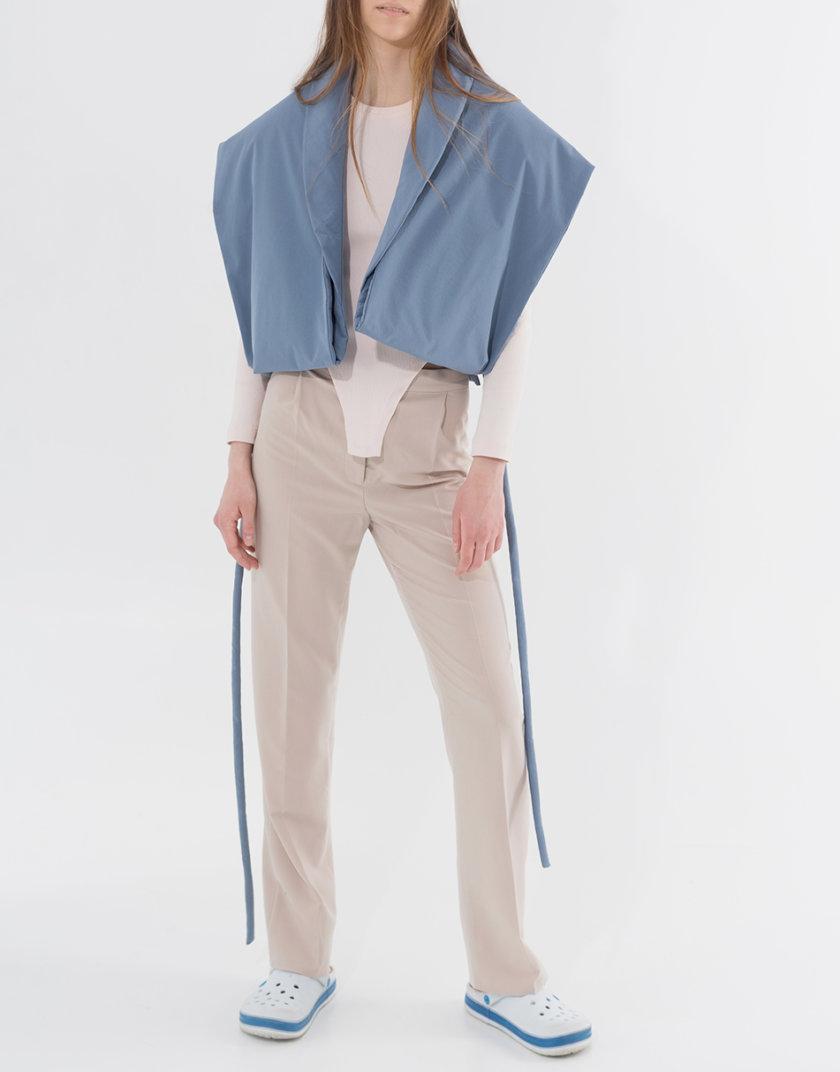 Хлопковый жилет-трансформер SHP_SHP-vest-blue, фото 1 - в интернет магазине KAPSULA