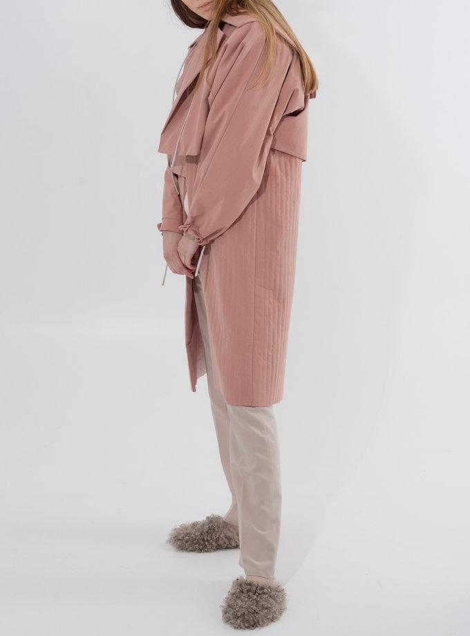 Хлопковый тренч-трансформер SHP_SHP-trench-coat-pink, фото 1 - в интернет магазине KAPSULA