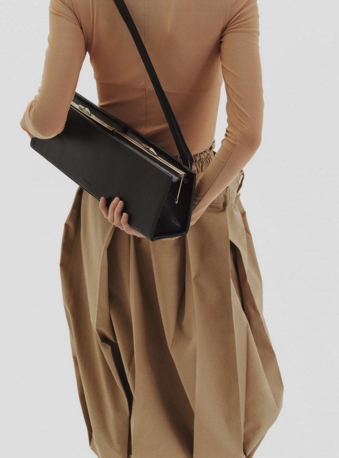Кожаная сумка Baguette CLASP GR_BC_BGT_CLASP-003, фото 1 - в интернет магазине KAPSULA
