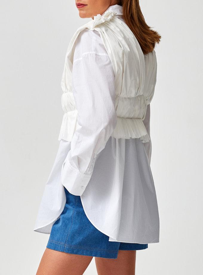 Хлопковая рубашка MF-SS21-36, фото 1 - в интернет магазине KAPSULA