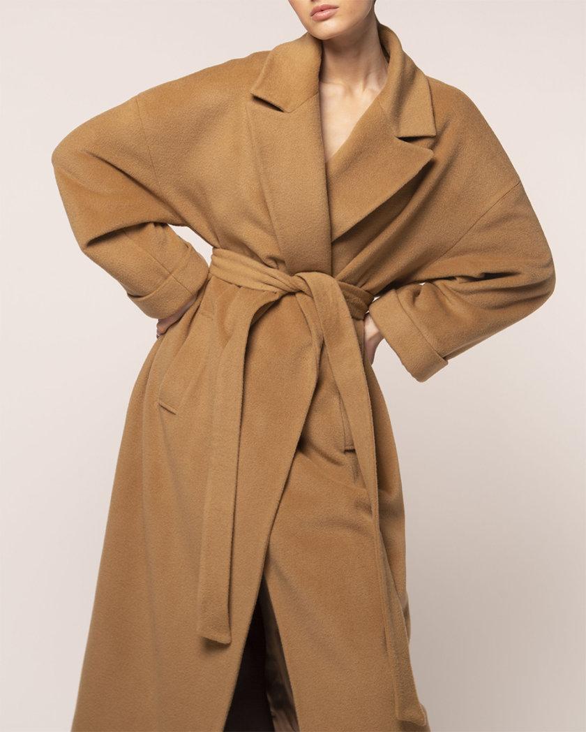 Объемное пальто из шерсти BEAVR_BA_FW21_89, фото 1 - в интернет магазине KAPSULA
