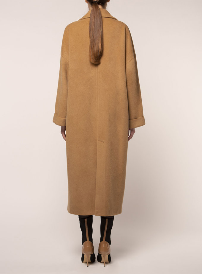 Об'ємне пальто з вовни BEAVR_BA_FW21_89, фото 1 - в интернет магазине KAPSULA