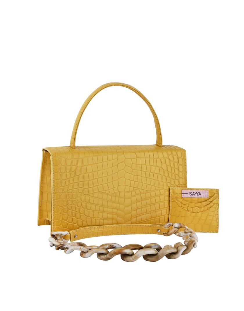 Кожаная сумка MOLLY SAYYA_SS1163-1, фото 1 - в интернет магазине KAPSULA