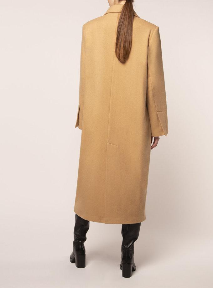 Объемное пальто из шерсти BEAVR_BA_FW21_90, фото 1 - в интернет магазине KAPSULA