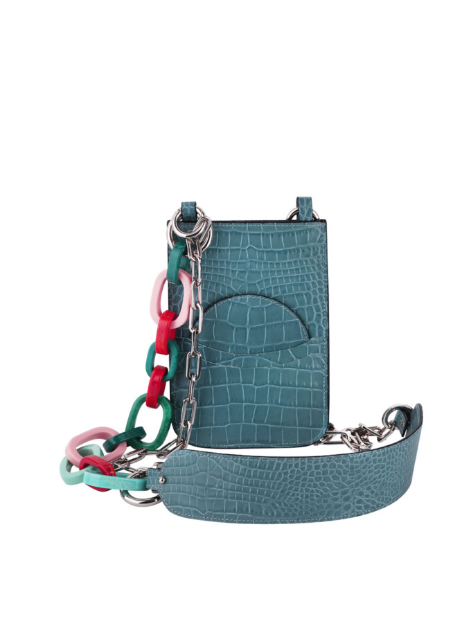 Кожаная сумка-чехол на цепочке SAYYA_SS1164, фото 1 - в интернет магазине KAPSULA