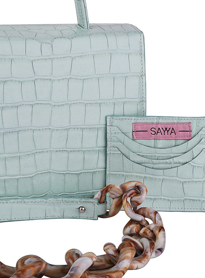 Кожаная сумка «MOLLY» SAYYA_SS1163-2, фото 1 - в интернет магазине KAPSULA