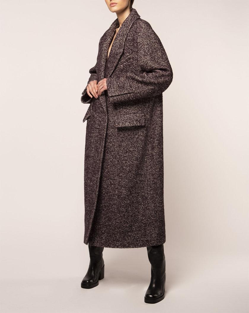 Объемное пальто из шерсти BEAVR_BA_FW21_92, фото 1 - в интернет магазине KAPSULA