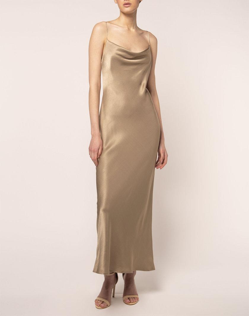 Платье миди на тонких бретелях BEAVR_BA_FW21_87, фото 1 - в интернет магазине KAPSULA
