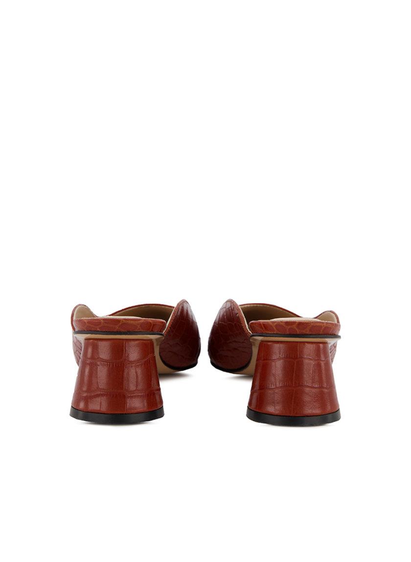 Кожаные мюли Marlene MRSL_314717, фото 1 - в интернет магазине KAPSULA