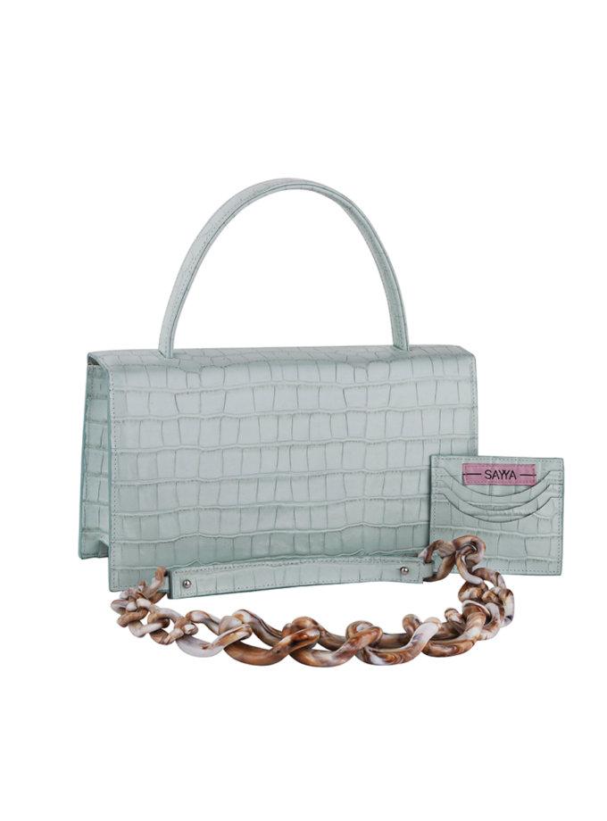 Кожаная сумка MOLLY SAYYA_SS1163-2, фото 1 - в интернет магазине KAPSULA