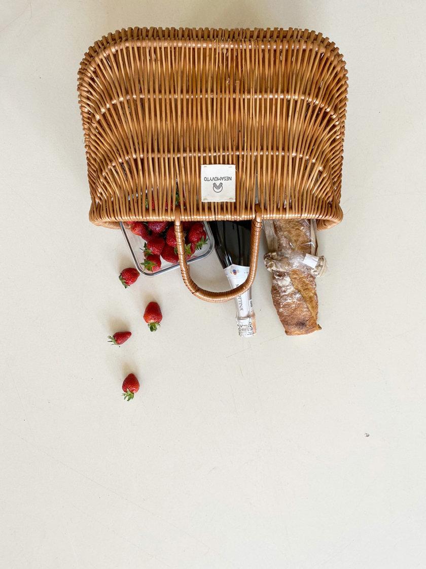 Корзина из лозы NST_BS, фото 1 - в интернет магазине KAPSULA